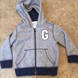 Boys hooded Gap sweatshirt! Size 3T